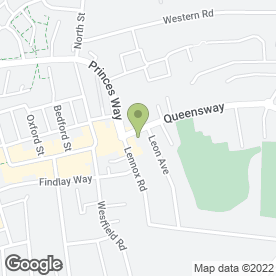 Map of BEESONS in Bletchley, Milton Keynes, buckinghamshire