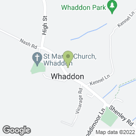 Map of Vintage Scoops in Whaddon, Milton Keynes, buckinghamshire