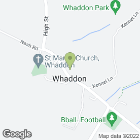 Map of Whaddon C.E First School in Whaddon, Milton Keynes, buckinghamshire