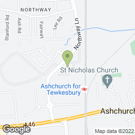 Map of MANN AUTOSERVICES in Ashchurch, Tewkesbury, gloucestershire
