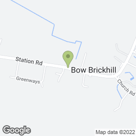 Map of Brooklands Flooring in Bow Brickhill, Milton Keynes, buckinghamshire