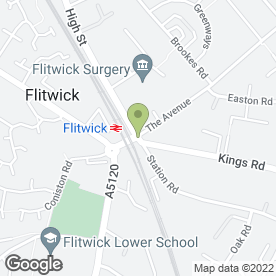 Map of FLITWICK JEWELLERS in Flitwick, Bedford, bedfordshire