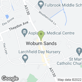 Map of The Purple Goose Ltd, in Woburn Sands, Milton Keynes, buckinghamshire
