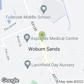 Map of Wine Rack in Woburn Sands, Milton Keynes, buckinghamshire