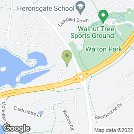 Map of Chameleon Landscapes in Walton Park, Milton Keynes, buckinghamshire