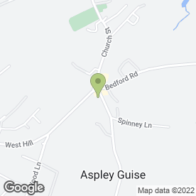 Map of Moore Place Hotel in Aspley Guise, Milton Keynes, buckinghamshire