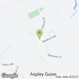 Map of Northlight Dental in Aspley Guise, Milton Keynes, buckinghamshire