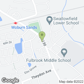 Map of Dudley Plant Hire Ltd in Woburn Sands, Milton Keynes, buckinghamshire