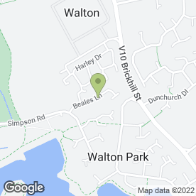 Map of Co-Operative PTA in Walton Park, Milton Keynes, buckinghamshire