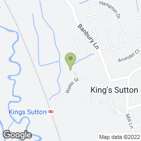 Map of J.C PLASTERING in Kings Sutton, Banbury, oxfordshire