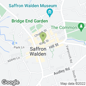 Map of Carphone Warehouse in Saffron Walden, essex