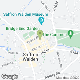 Map of Esprit Health & Beauty in Saffron Walden, essex