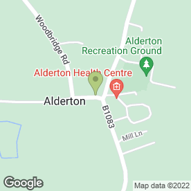 Map of Don's Stores in Alderton, Woodbridge, suffolk