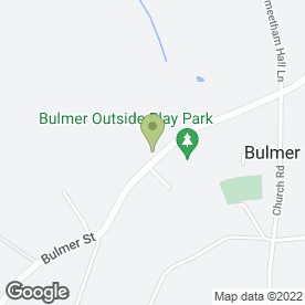 Map of Splinters Outside Catering in Bulmer, Sudbury, suffolk