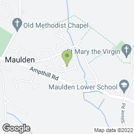 Map of LH Carpentry in Maulden, Bedford, bedfordshire