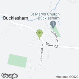 Map of Bugsy's Autos in Bucklesham, Ipswich, suffolk