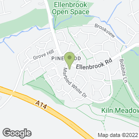 Map of Just Learning Nursery in Pinewood, Ipswich, suffolk