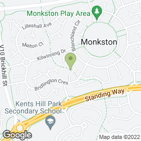 Map of Cleaning Direct Services in Monkston, Milton Keynes, buckinghamshire
