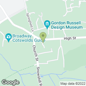 Map of Hayman-Joyce Estate Agents in Broadway, worcestershire