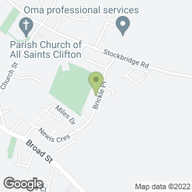 Map of Absolute Beauty in Clifton, Shefford, bedfordshire