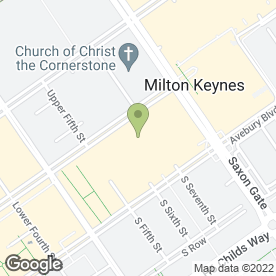 Map of Browns Milton Keynes in Milton Keynes, buckinghamshire