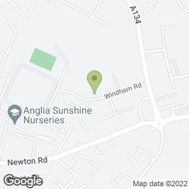 Map of Chilton Office Supplies in Sudbury, Suffolk, suffolk