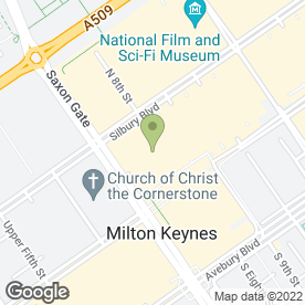 Map of Thomas Cook Retail Ltd in Milton Keynes, buckinghamshire