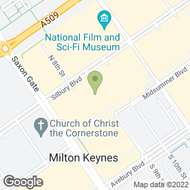 Map of Thomson in Milton Keynes, buckinghamshire
