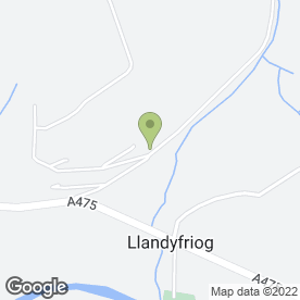Map of Maverix Web Design in Llandyfriog, Newcastle Emlyn, dyfed