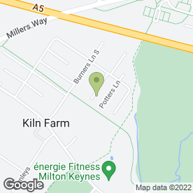 Map of John Briars Garage Doors Ltd in Kiln Farm, Milton Keynes, buckinghamshire