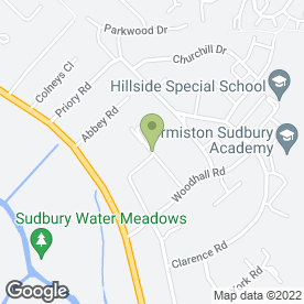 Map of R & S Installations in Sudbury, suffolk