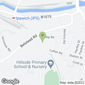 Map of Gurney Carpentry in Ipswich, suffolk