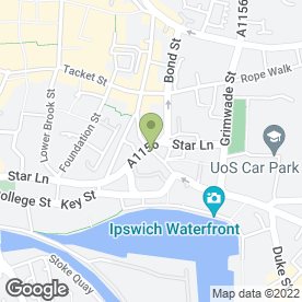 Map of Flawless Image Beauty in Ipswich, suffolk