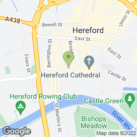 Map of Flint & Cook in Hereford, herefordshire