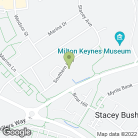 Map of The Kissenger Partnership in Milton Keynes, buckinghamshire