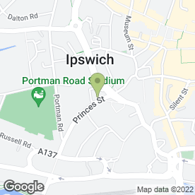 Map of AVANTI AUTOS in Ipswich, suffolk