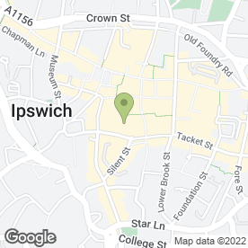Map of Revolution in Ipswich, suffolk