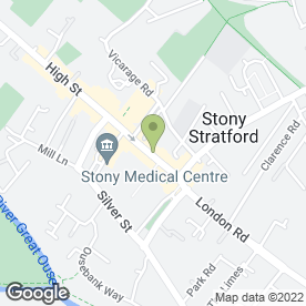 Map of McCarthy Beauty Clinic in Stony Stratford, MILTON KEYNES, buckinghamshire