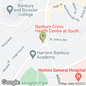 Map of Dr Large & Partners in Banbury, oxfordshire
