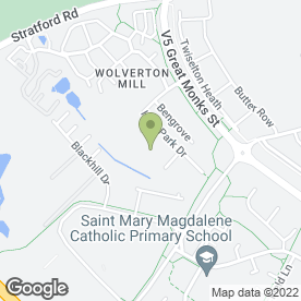 Map of Echo Ltd in Wolverton Mill, Milton Keynes, buckinghamshire