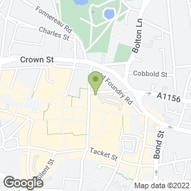 Map of John Olivers Hairdressing Group in Ipswich, suffolk