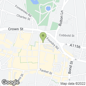 Map of Action Outdoors Ltd in Ipswich, suffolk