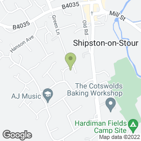 Map of Geoff Ludlow Professional Decorating in Shipston-On-Stour, warwickshire