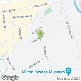 Map of Kitchen'S-Ink in Wolverton, Milton Keynes, buckinghamshire