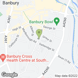 Map of A & Y Grocers in Banbury, oxfordshire