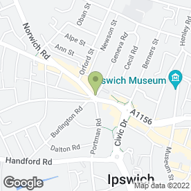 Map of Barrack Lane Medical Practice in Ipswich, suffolk