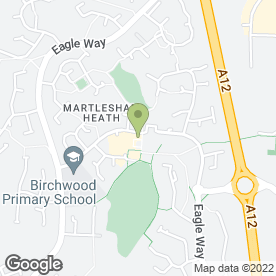 Map of Dr A Schurr & Partners in Martlesham Heath, Ipswich, suffolk