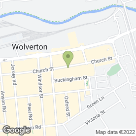 Map of Micro Tek in Wolverton, Milton Keynes, buckinghamshire