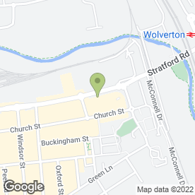 Map of The Funeral Company Ltd in Wolverton, Milton Keynes, buckinghamshire