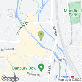 Map of General Foods Sports & Social Club in Banbury, oxfordshire